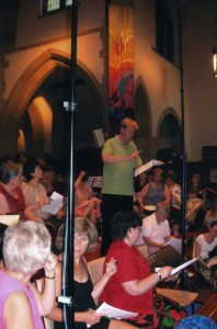 Festival of Carols Recording session 06