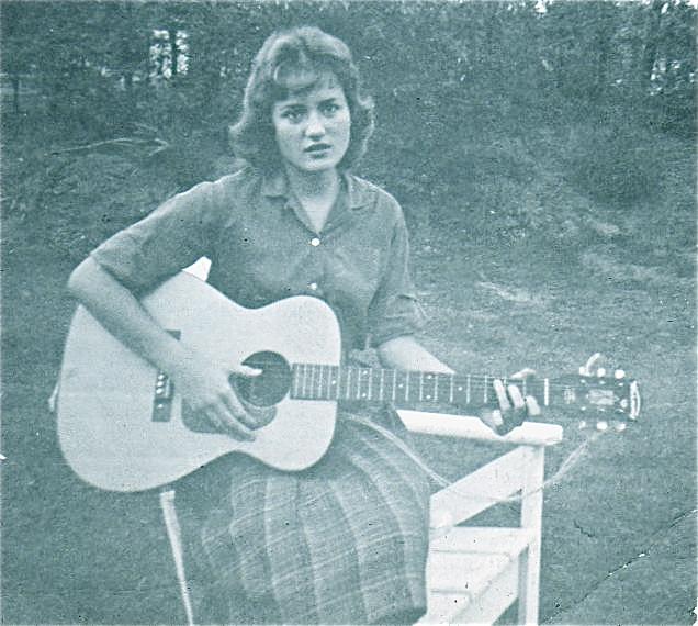 Debbie with guitar