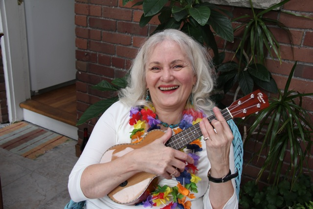 Debbie and her Ukulele