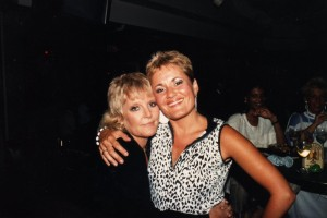 Petula Clark and Debbie Fleming