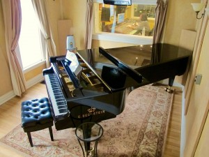 The Beautiful Beckstein 9 foot grand piano