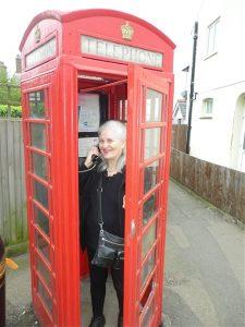 Deb,OldUKPhone booth