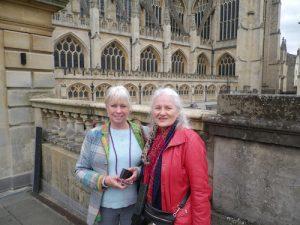 Glenna&Deb,Bath Cathedral