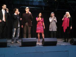 Tom Lillington, Dylan Bell, Larry Folk, Suba Sankaran, Judy Tate, Debbie Fleming - exquisite harmonies.
