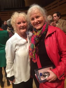 Petula and Debbie, at Koerner Hall