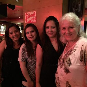 Alicia, Allana, Amanda and me